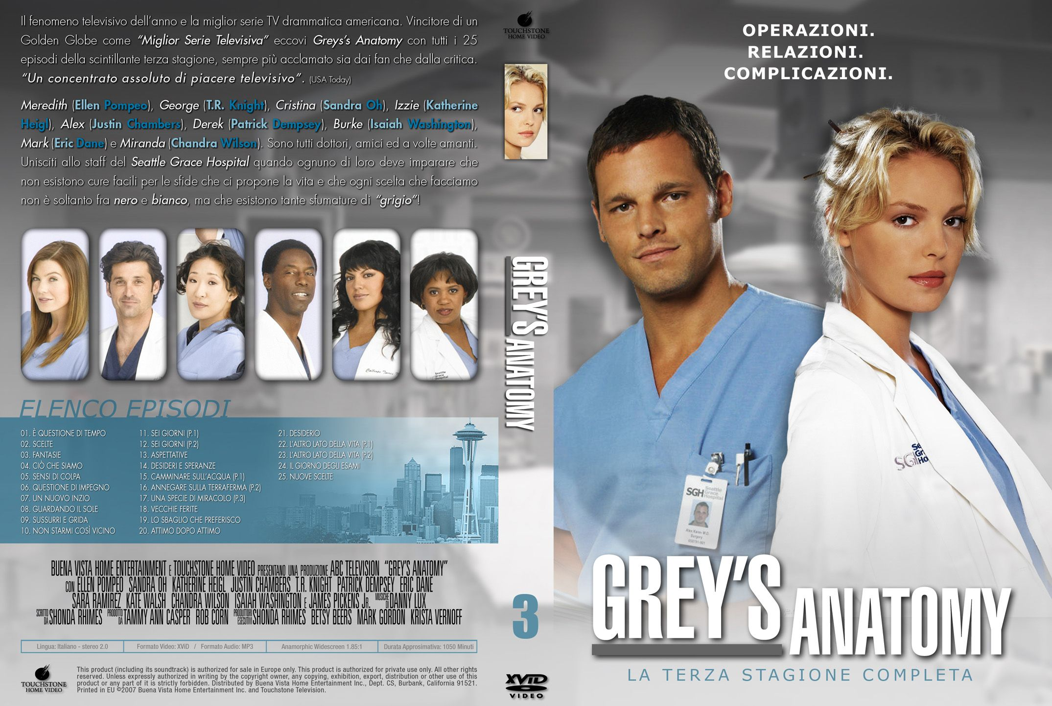 grey\'s anatomy season 10 spoilers | Greys Anatomy Season 3 Italian ...