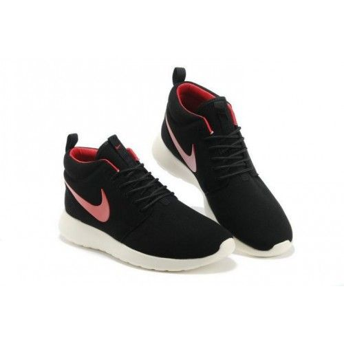 brand new 6bb49 53ae4 Nike Roshe Run Mid Homme Noir Sport Rouge - €60.32   Chaussures Nike Air  Max Pas Cher Solde   Nike Free Run   Nike Air Jordan Femme - Site Officiel  ...