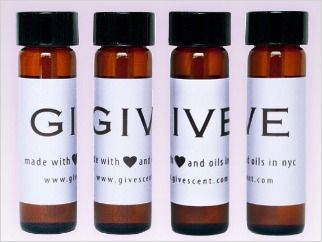 """GIVE Scent"": a sensual, #natural fragrance reminiscent of a #yoga experience!"