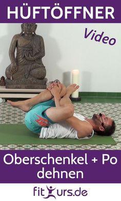 Photo of Dehnübung für Hüfte, Oberschenkel und Po [Nadelöhr, Hüftöffner]