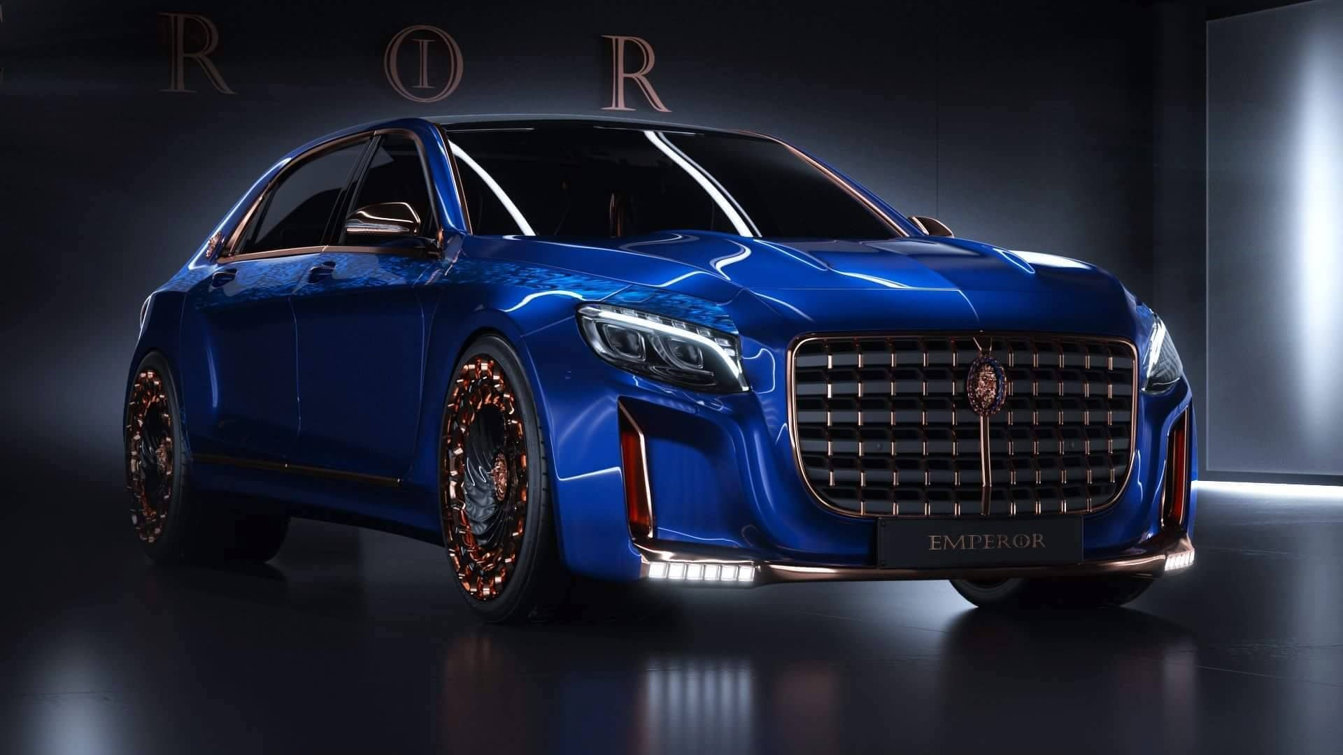 The Scaldarsi Emperor I is a Mercedes Maybach S600 taken to 11 on