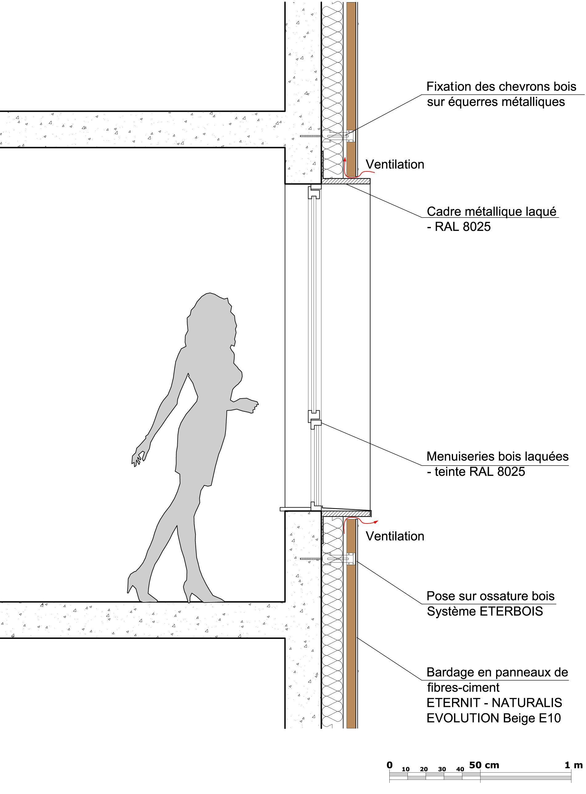 Gallery Of 24 Housing Units Zanon Bourbon Architects 19 Wooden Facade Facade Panel Facade Design