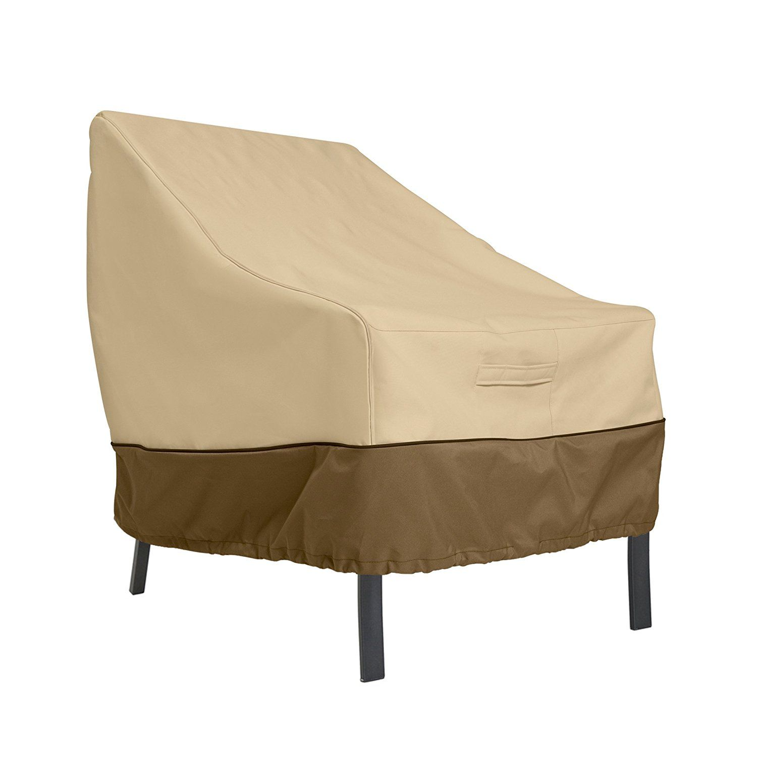 Amazon Com Classic Accessories Veranda Patio Lounge Chair Club Chair Cover Durable And Water Resistant Outdoor Furniture Cove Outdoor Furniture Covers Patio Chairs Patio Furniture Covers