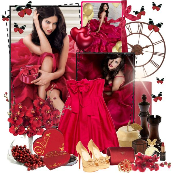 Lady in red. Maybe for next valentines day???