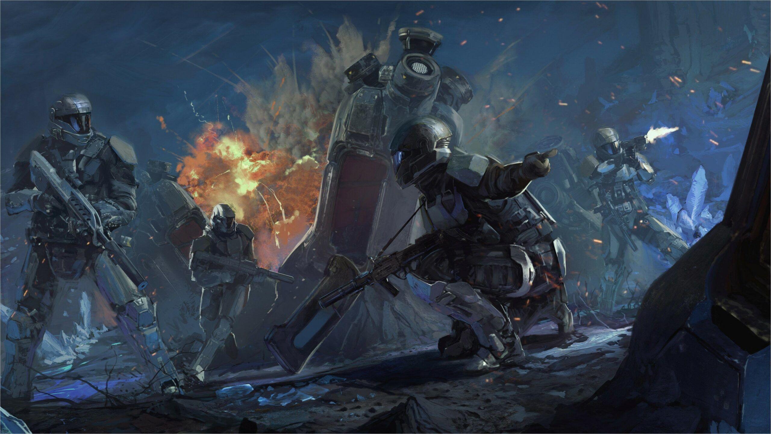 3 2 4k Wallpaper In 2020 Halo Armor Halo Halo 3 Odst