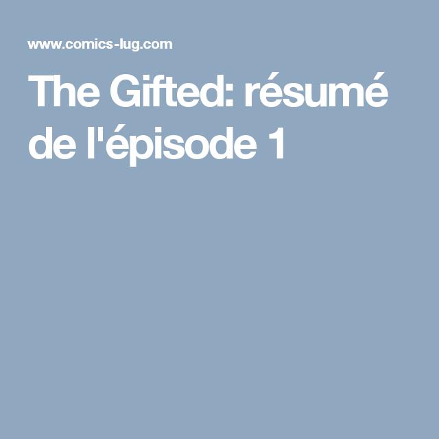 The Gifted: résumé de l'épisode 1