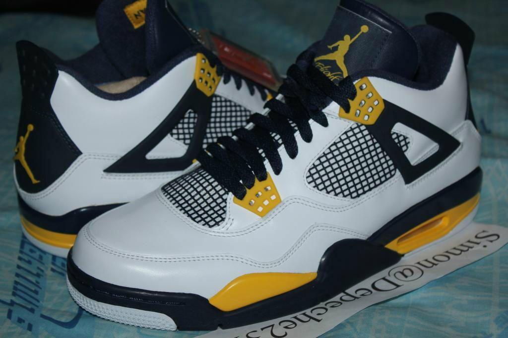 Air Jordan Retro 4 Marquette Golden Eagles Cal Golden Bears Air Jordans Air Jordans Retro Jordans