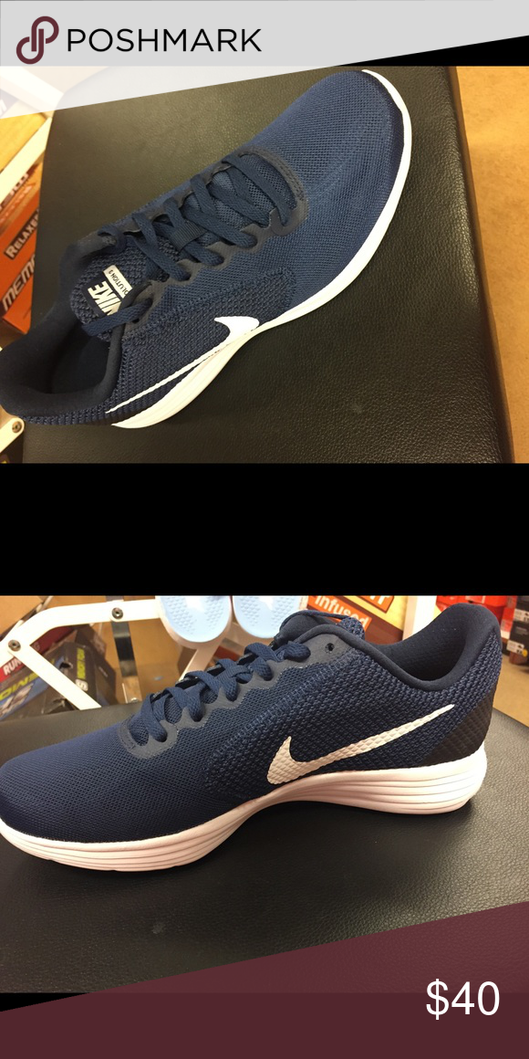 Shop Men's Nike Blue size Various Athletic Shoes at a discounted price at  Poshmark.