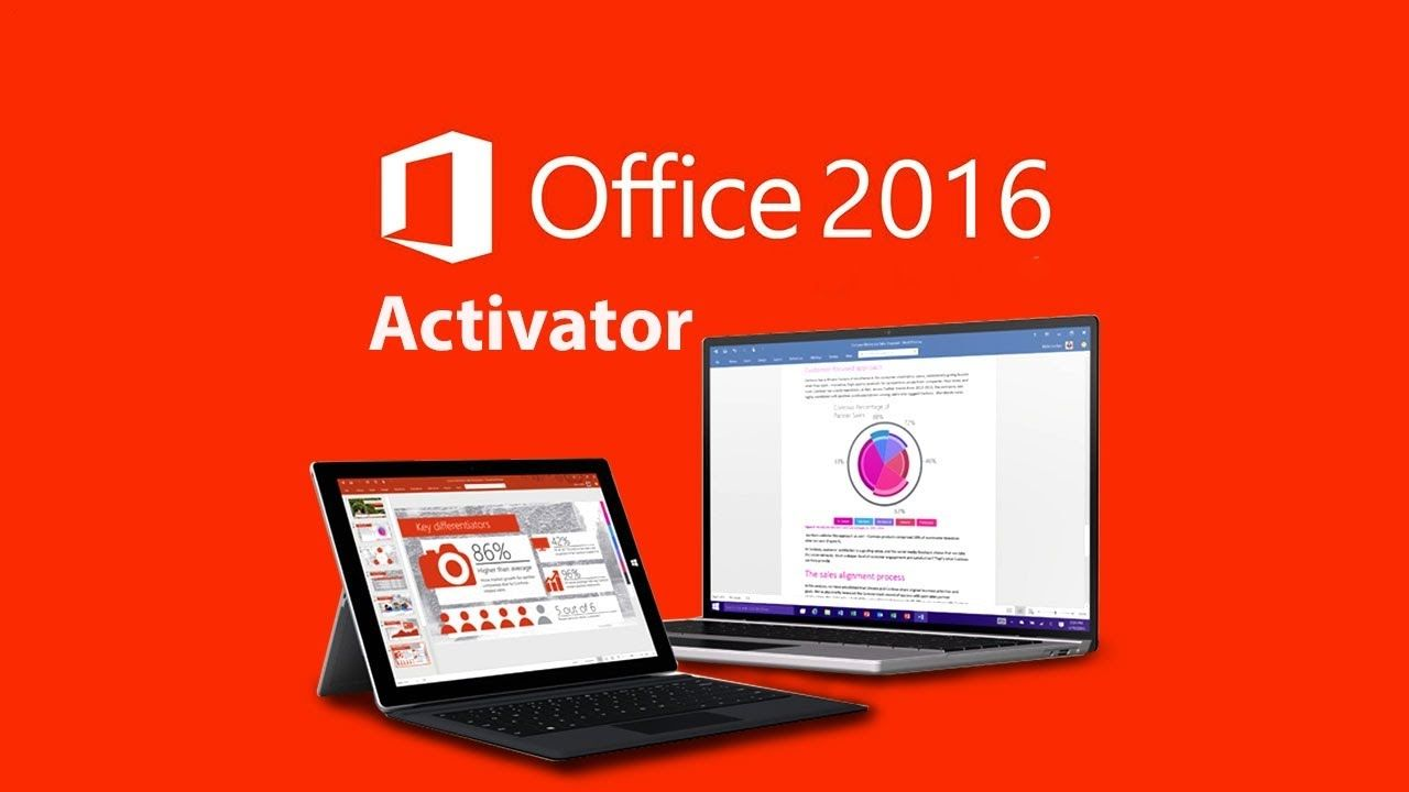 How to Activate the MS Office 2016 or office 365 in few