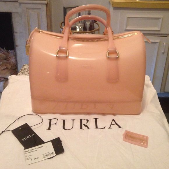 cb52c298e9d Furla Candy bag (large size) in orchidea 100% authentic furla candy bag  that comes with original tags