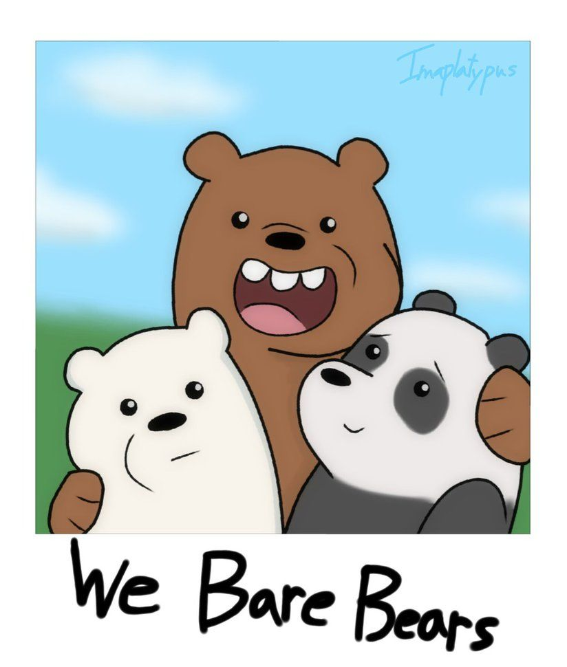 We Bare Bears by Imaplatypusviantart on DeviantArt