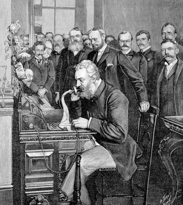 13 alexander graham bell originally wanted people to greet each alexander graham bell originally wanted people to greet each other on the telephone m4hsunfo