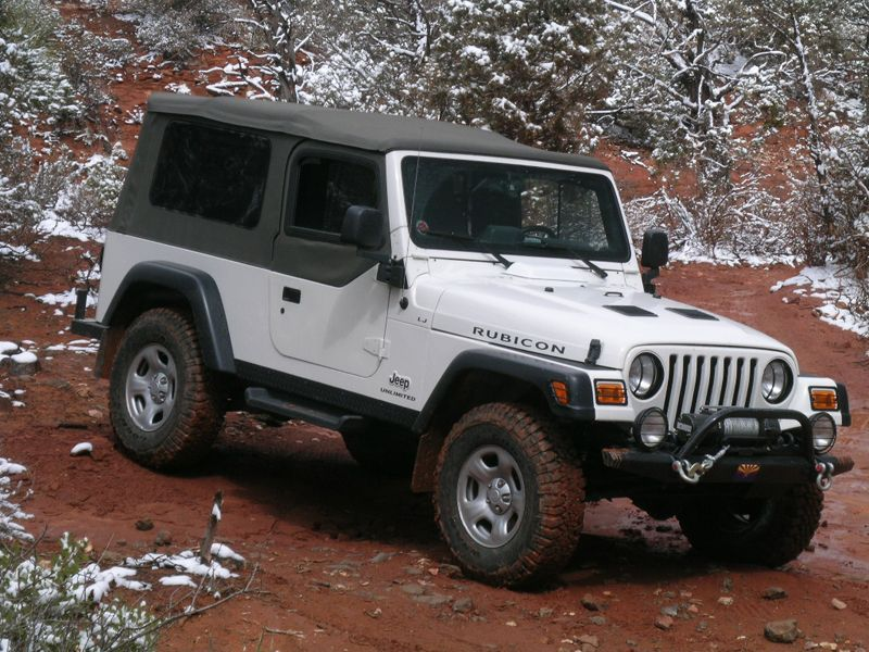 LJ Rubicon Jeep garage, Jeep wrangler accessories, 1997