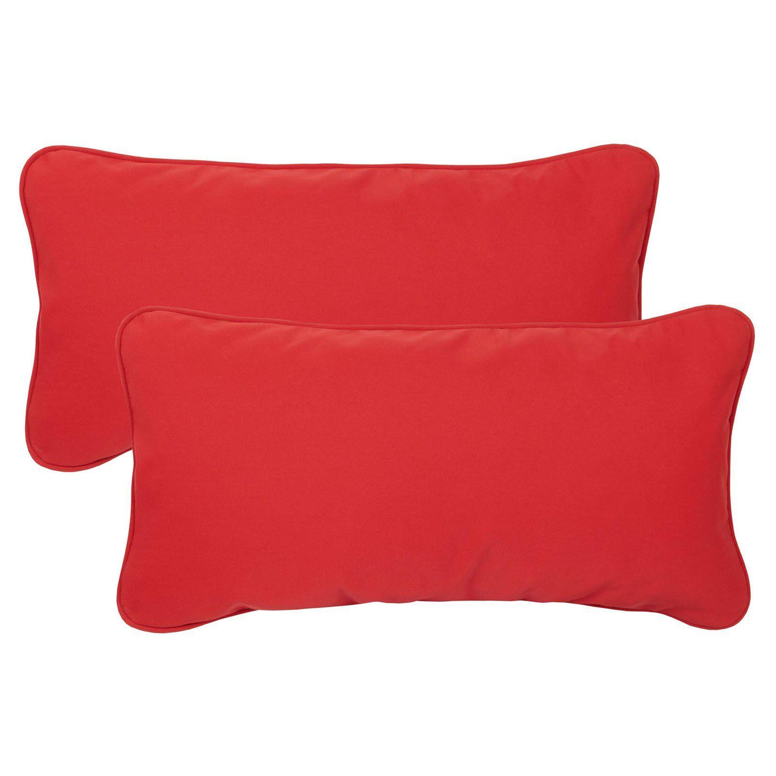 Mozaic Company Sunbrella Corded Indoor Outdoor Pillow Set Of 2