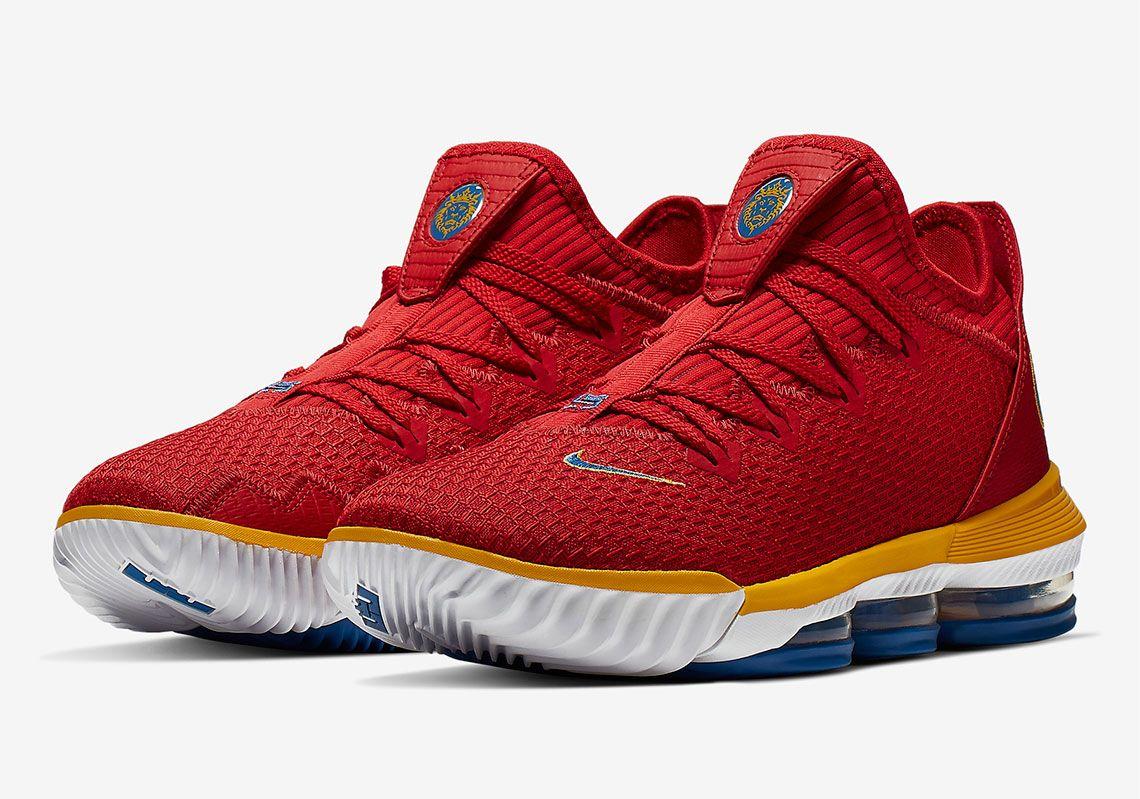 Nike LeBron 16 Low SuperBron CK2168-600