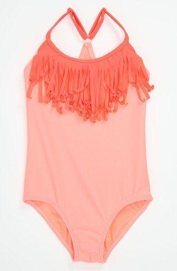 One Piece Little Girls Swimsuit  | Roxy $40