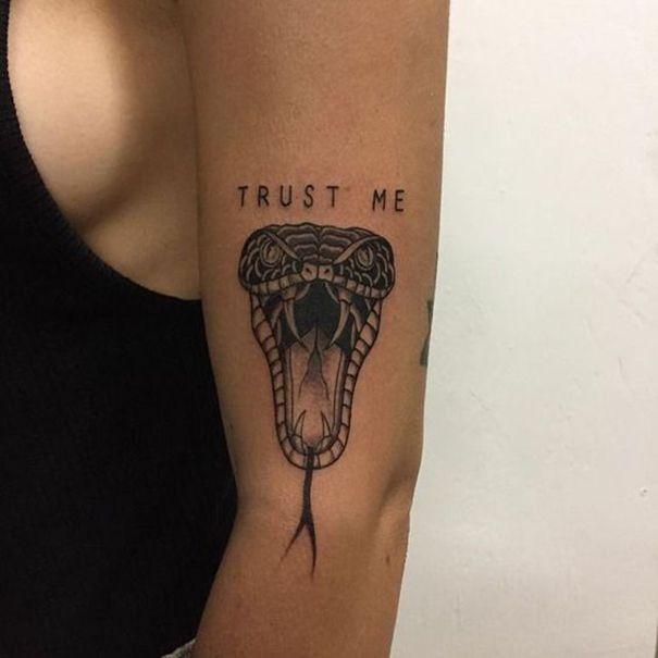 30 Fantastische Schlangen Tattoo Ideen – www.pussypaper.de - Picbilder- Wir Für Bilder #tattoosandbodyart