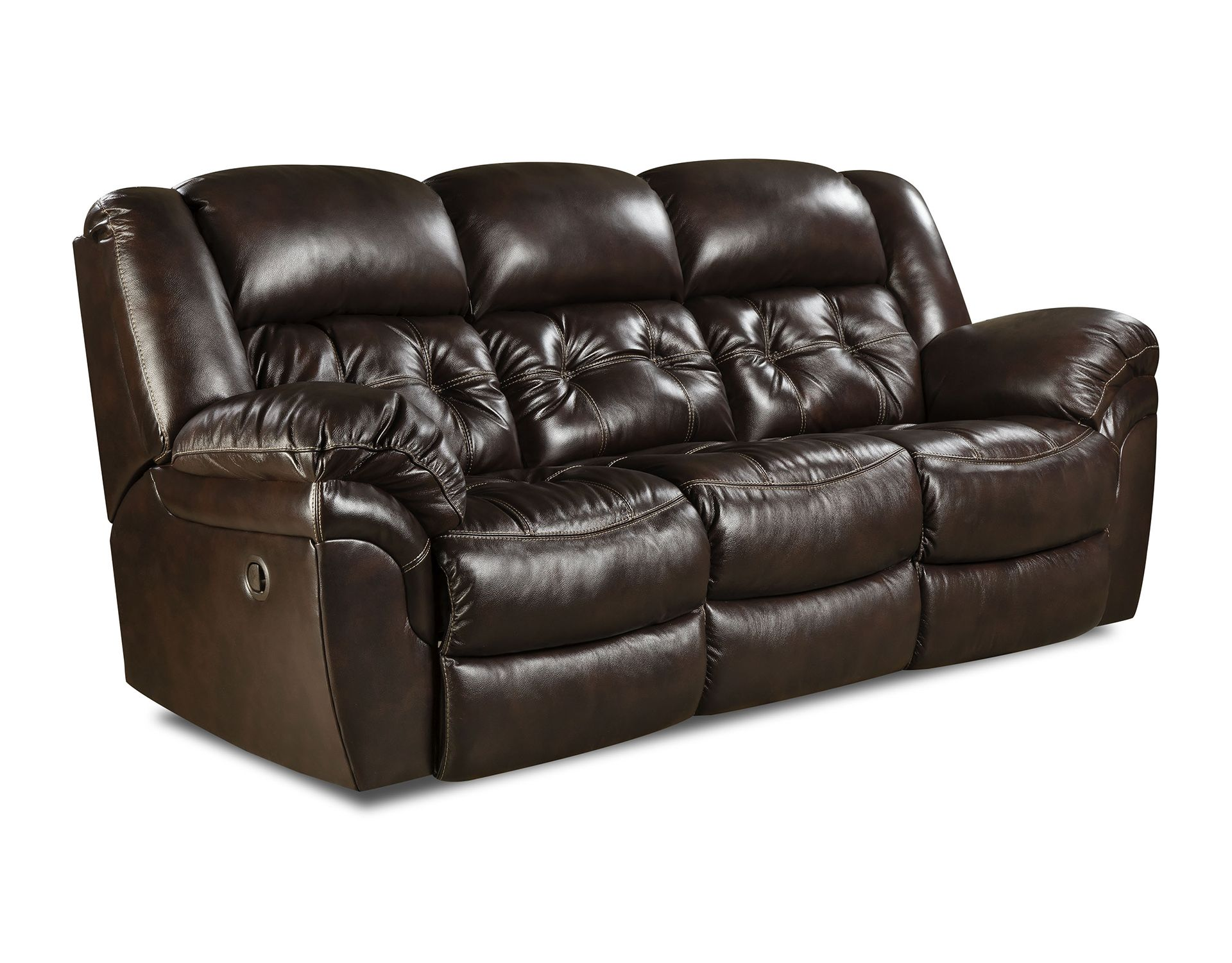 Double Reclining Sofa from HomeStretch