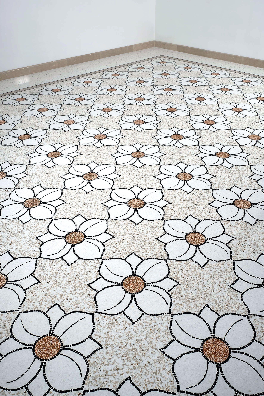 Pavimento In Terrazzo Alla Veneziana terrazzo alla veneziana.flowers terrazzo floor