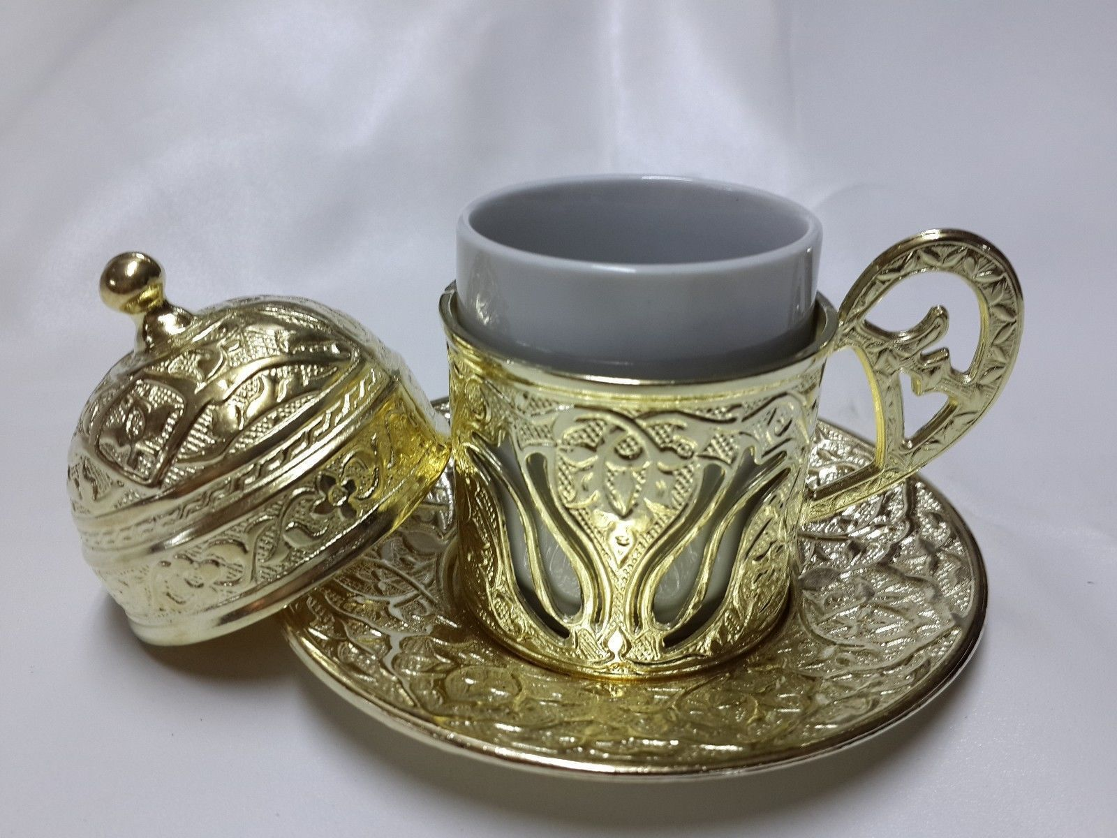 TURKISH COFFEE SERVING CUP FOR ONE OTTOMAN STYLE