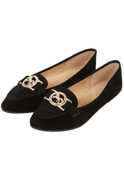 MARDI HORSE Slippers - Flats - Shoes - Topshop