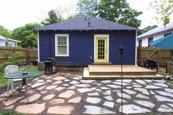 backyard has simple but stylish design 166 warren street ne