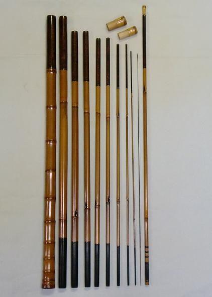 Japanese bamboo rod