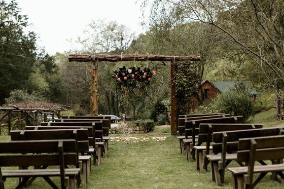 Butterfly Hollow Bed and Breakfast Weddings Middle ...