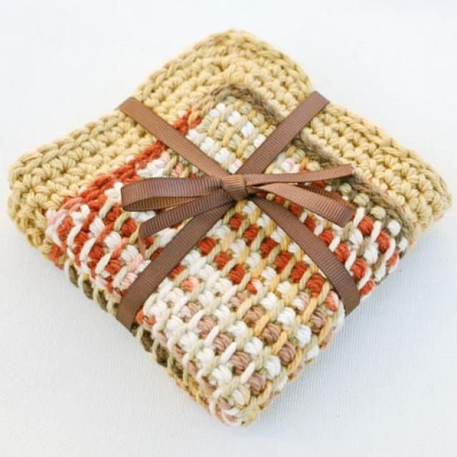 Crochet Gorgeous Kitchen Dishcloths With These Free Patterns
