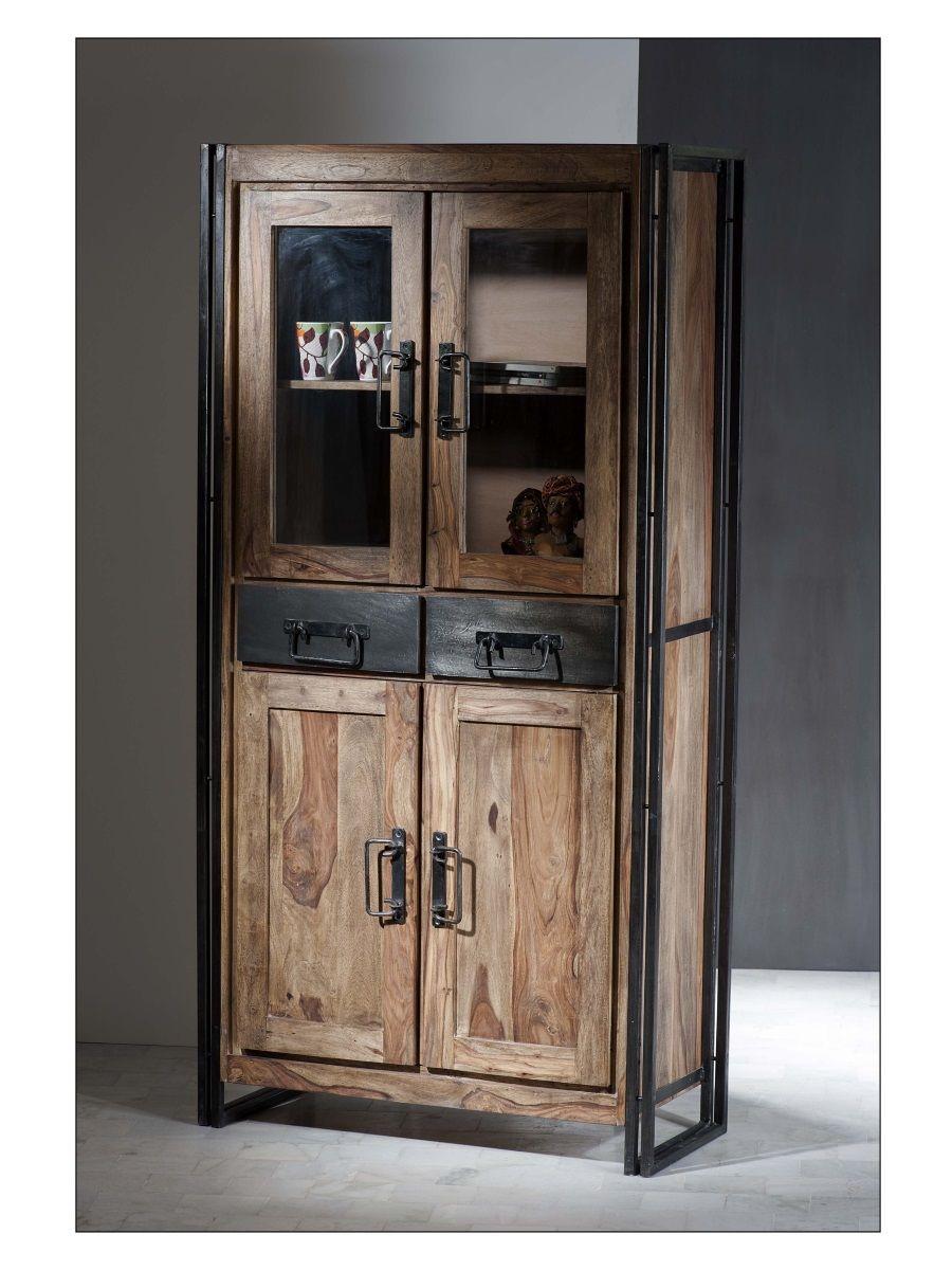 sit m bel vitrine panama kaufen im borono online shop. Black Bedroom Furniture Sets. Home Design Ideas