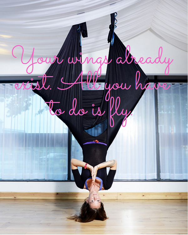 We Love To Support Aerial Yoga Professionals Https
