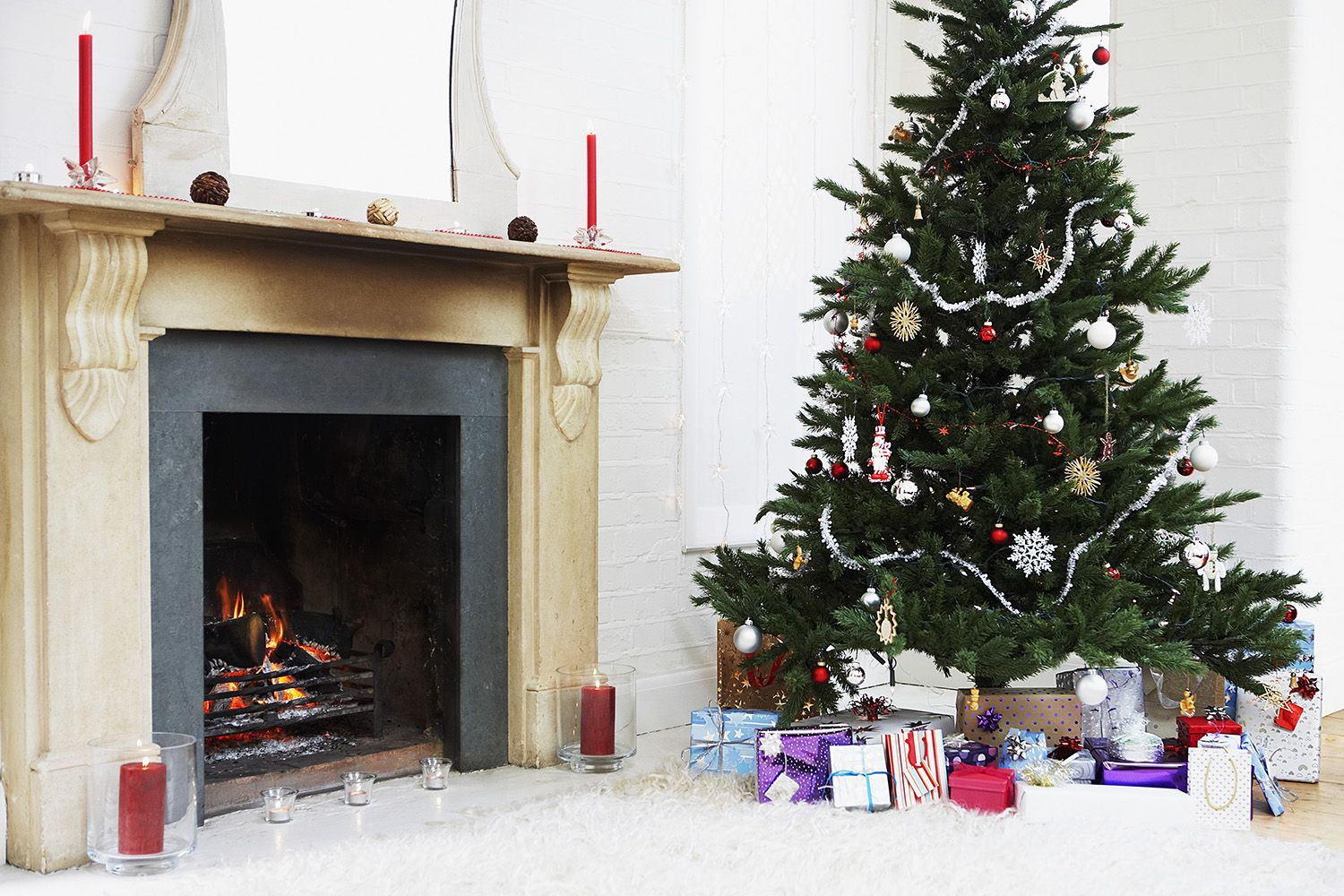 you can now get a pre decorated christmas tree delivered to your house eveningstandard