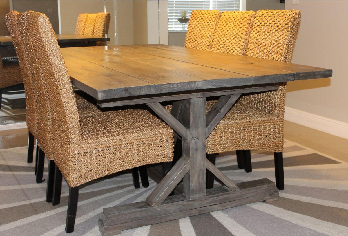 Benches for the Farmhouse Table Rustic farmhouse table