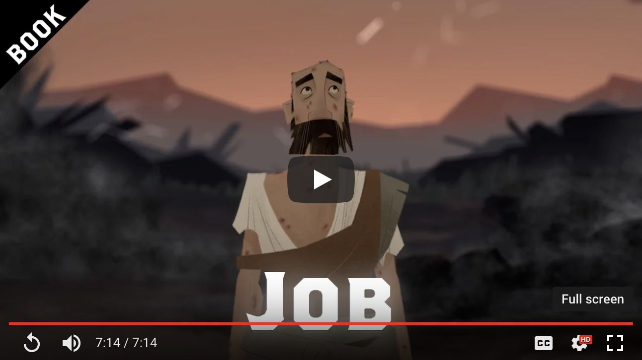 Book of Job (synopsis + video) The Bible Project How