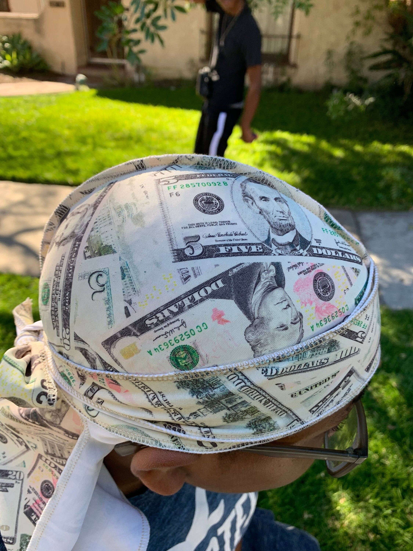 Dollar Bills Money Durag In