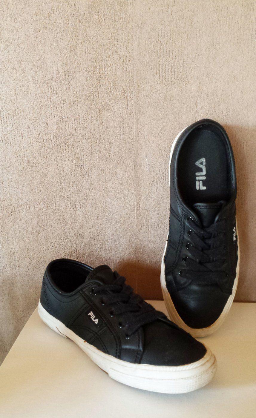 FILA Sneakers schwarz | Flohmarkt | Fila schuhe, Halbschuhe