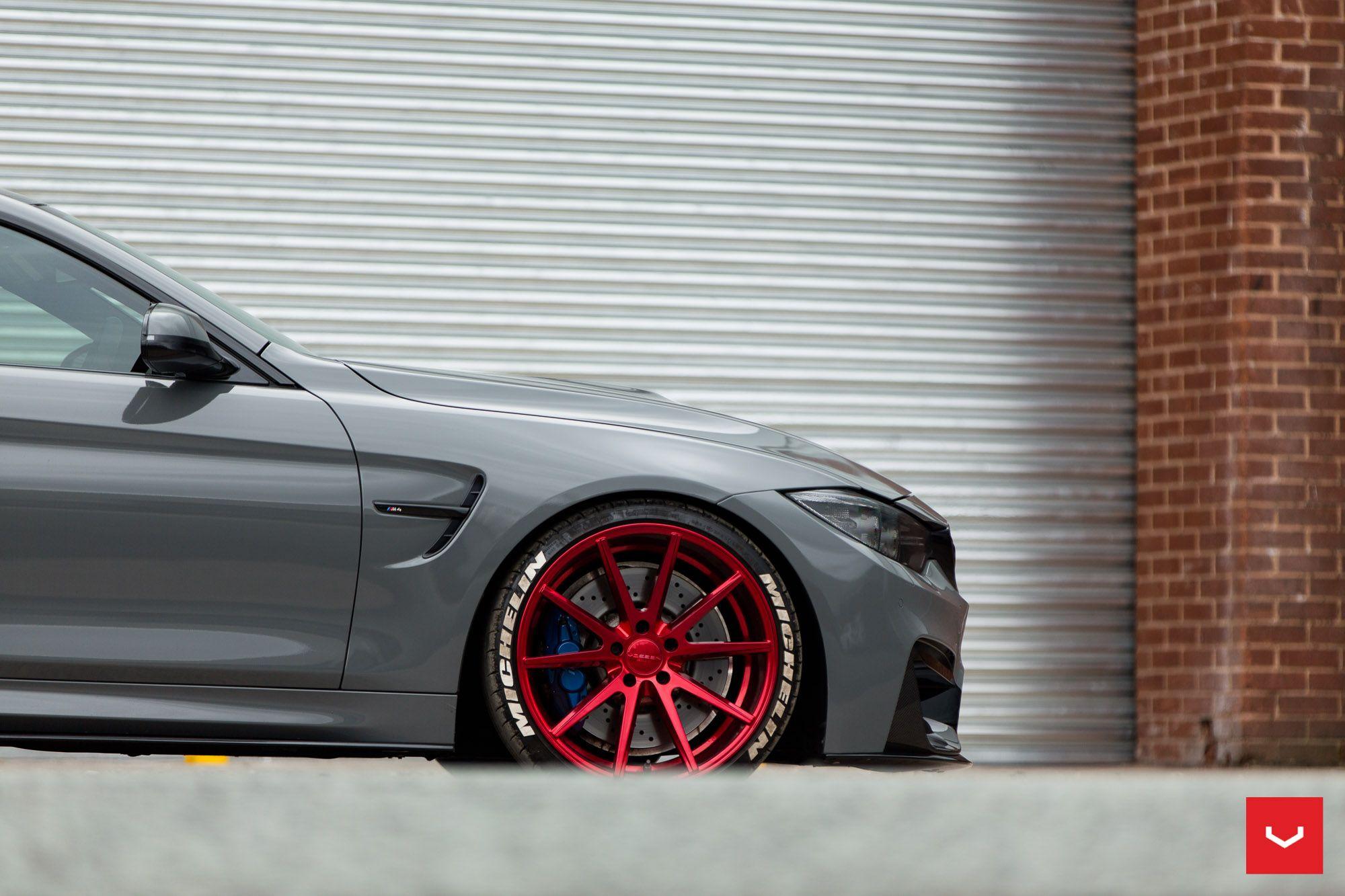 F82 M4 Coupe MineralGrey VOSSENWheels … BMW M