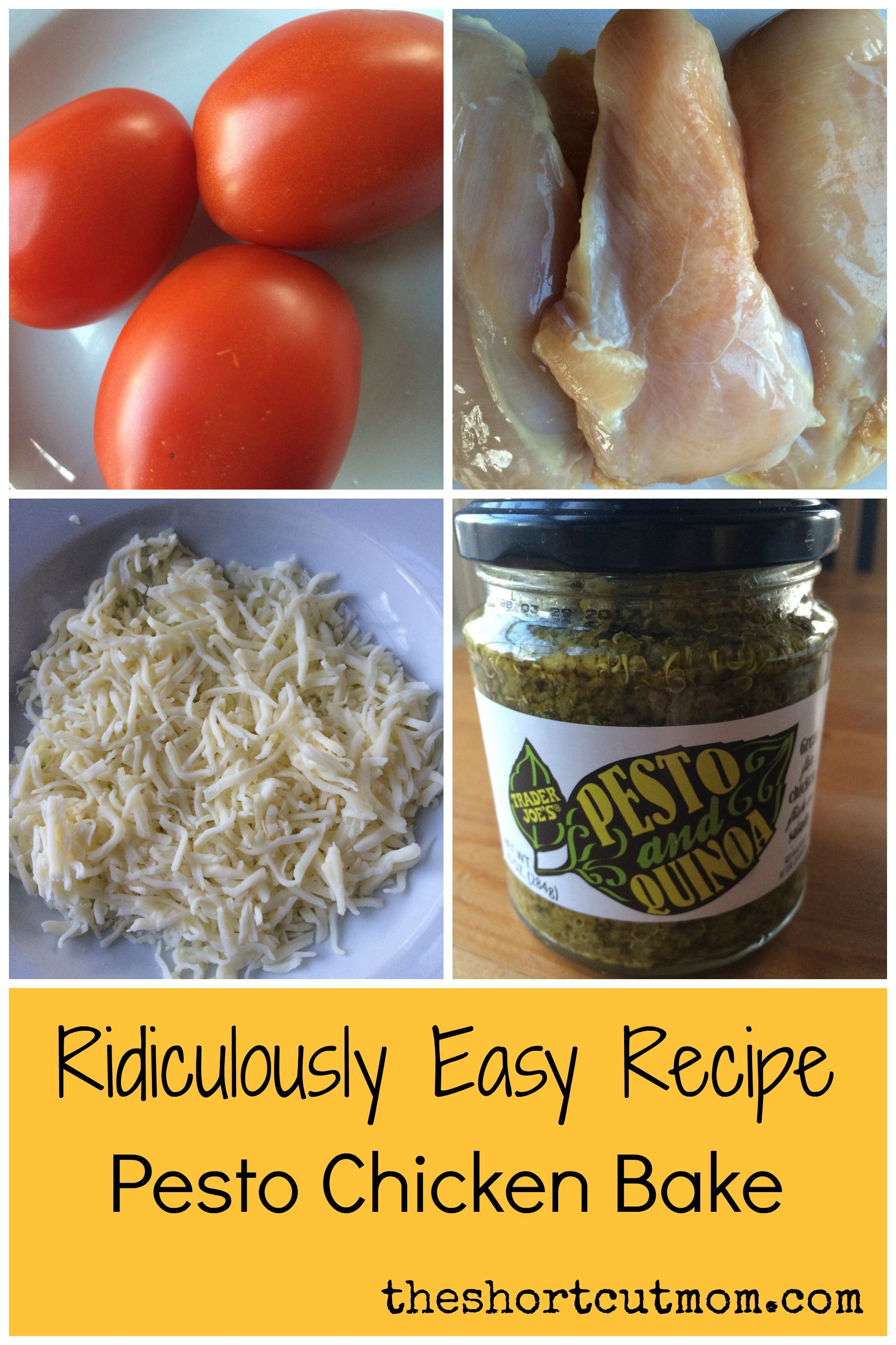 How To Make An Easy Chicken Pesto Dish With Only Four Ingredients!