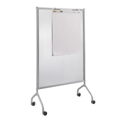 Simple Safco Products Impromptu Full Collaboration Screen Mobile Free Standing Whiteboard 6 H x HD - Model Of portable whiteboard For Your Plan