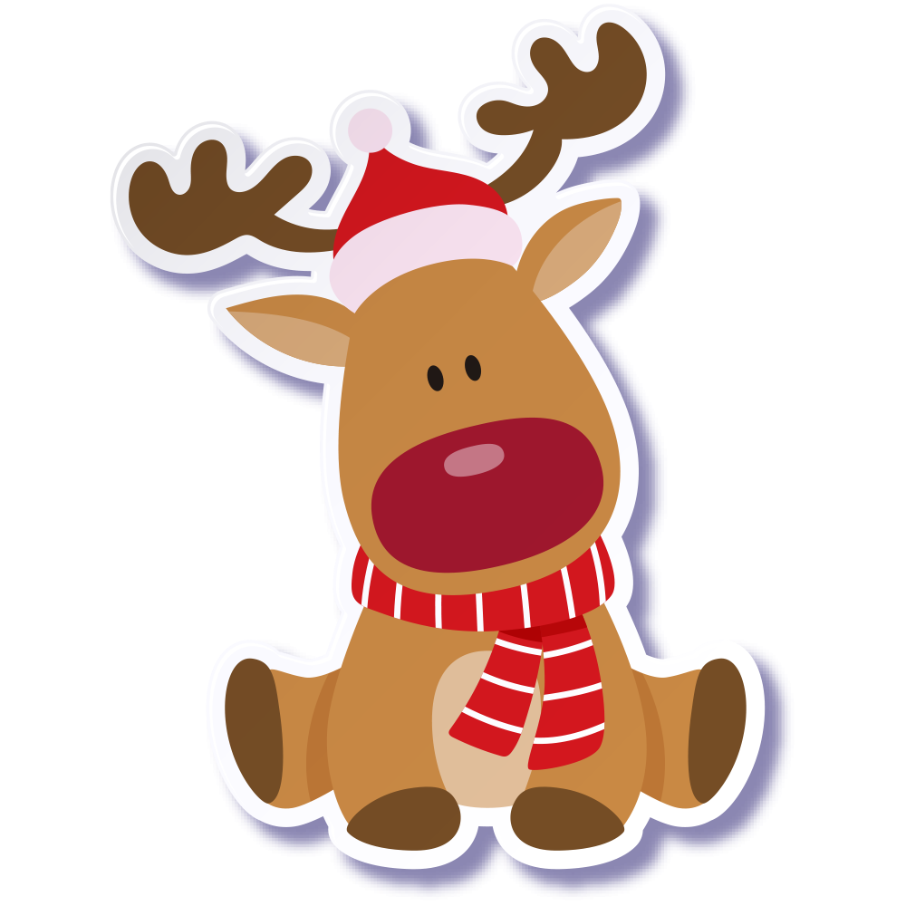 Christmas Reindeer Christmas Reindeer Cartoon Png Transparent Clipart Image And Psd File For Free Download Christmas Reindeer Cartoons Png Reindeer