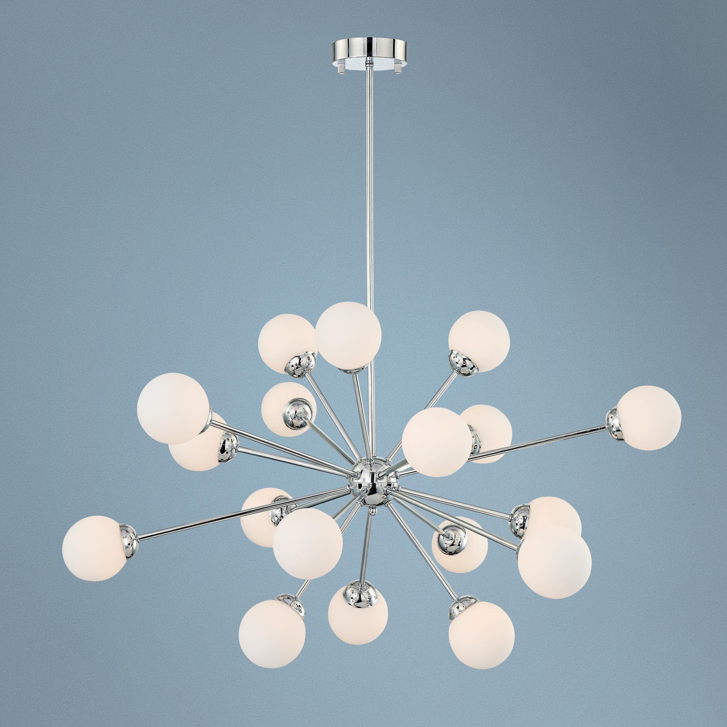Possini euro design opal glass pendant chandelier lights