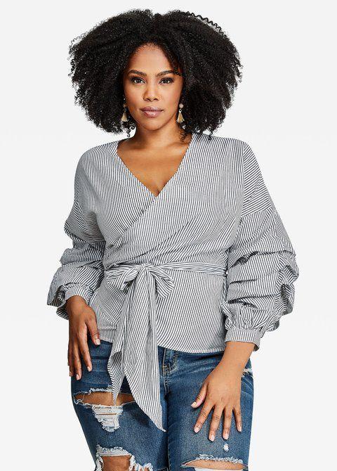 448e314f05a6b Shop Ashley Stewart blouses on Keep!