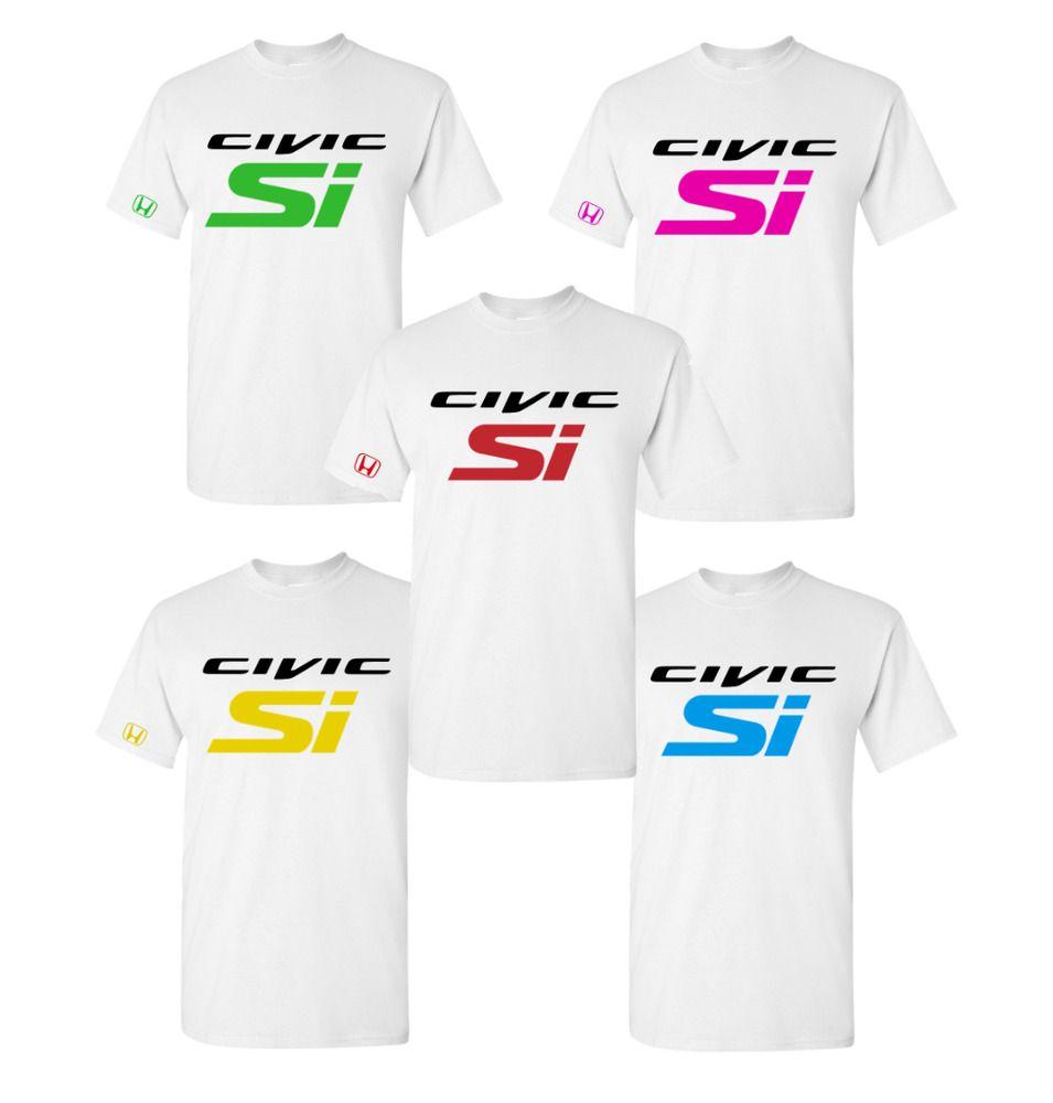 Honda Civic Si T Shirt K20 B16 Integra GSR TYPE R B20 ...