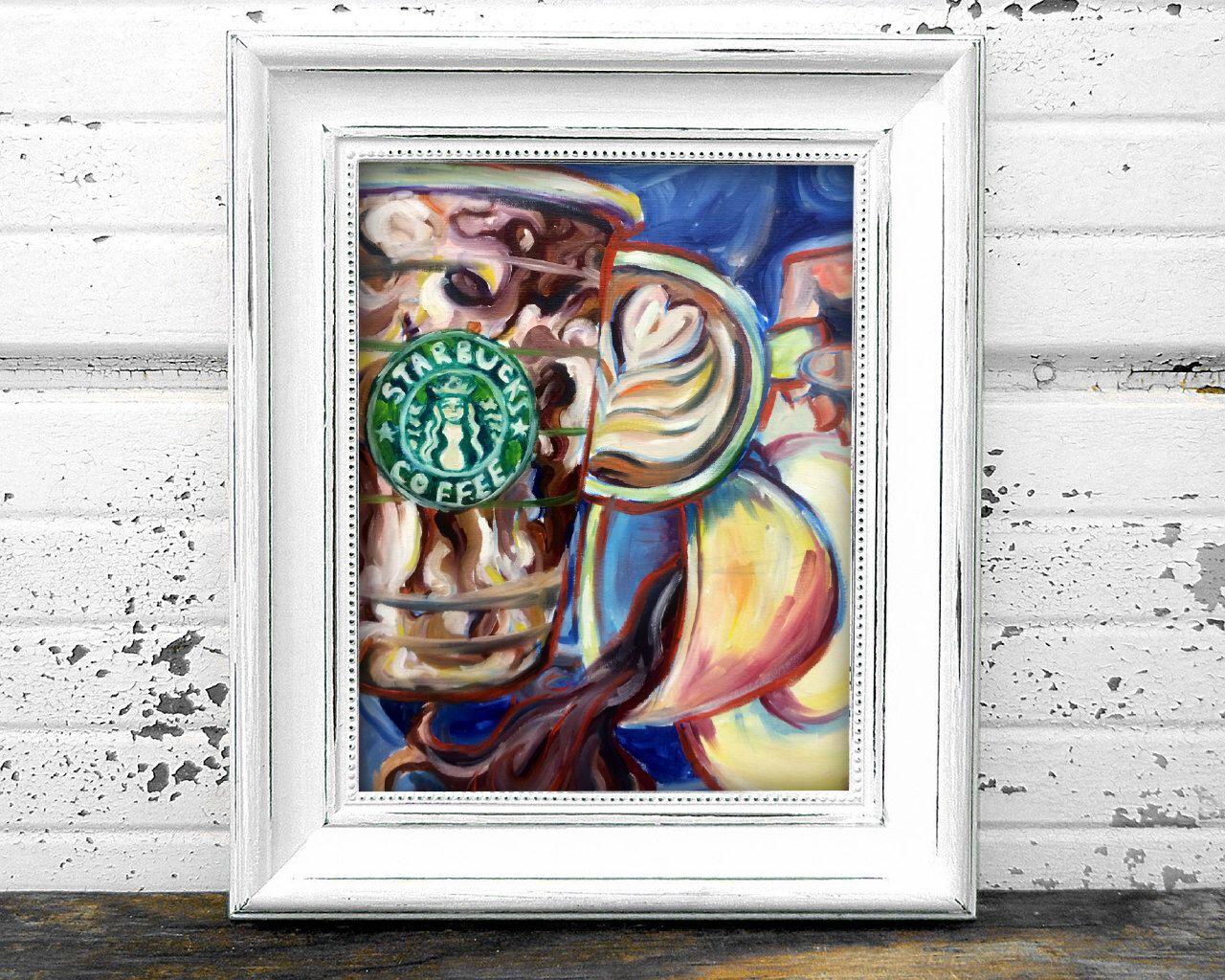 Coffee Break by AnnaMarieeArt on Etsy https://www.etsy.com/listing/238168401/coffee-break
