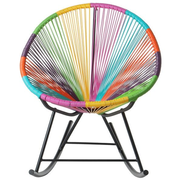 bold acapulco rocking chair indoor or outdoor multicolor china