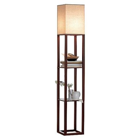 Shelf Floor Lamp With Shade Target