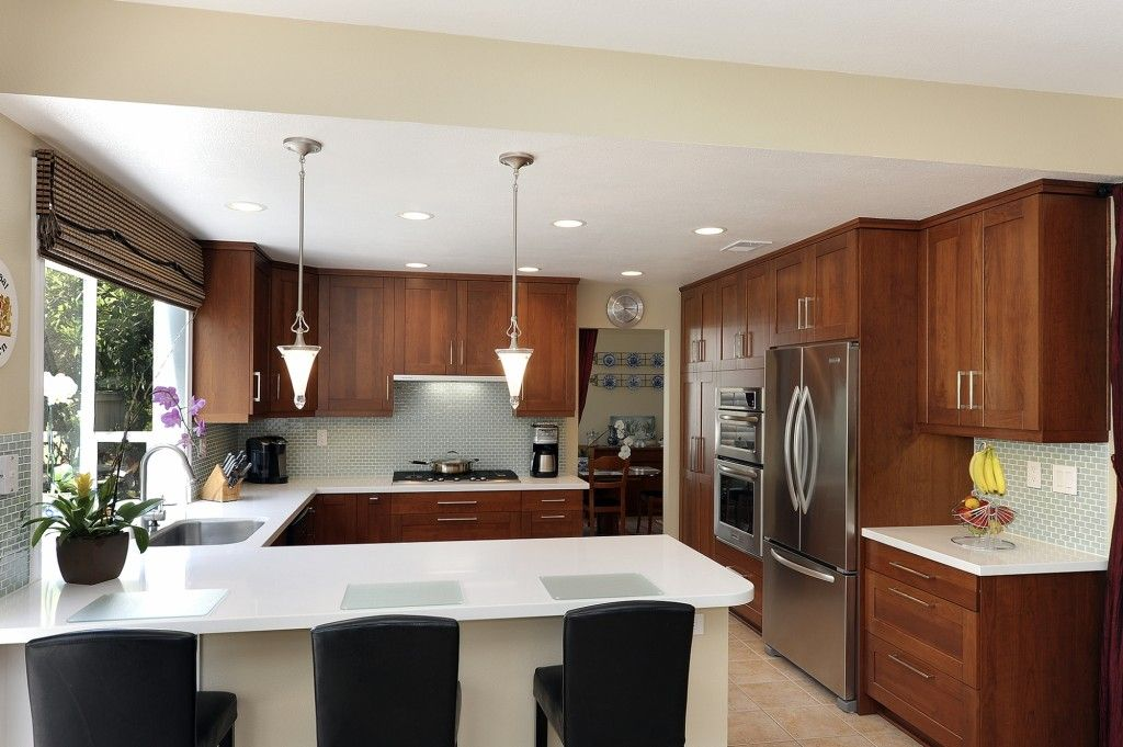Kitchen Design Layout U Shaped With Island small u-shaped kitchen remodels |  kitchen designate simple
