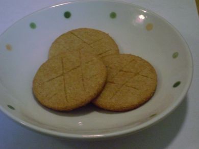 Almond Cookies (Sables) GFCF