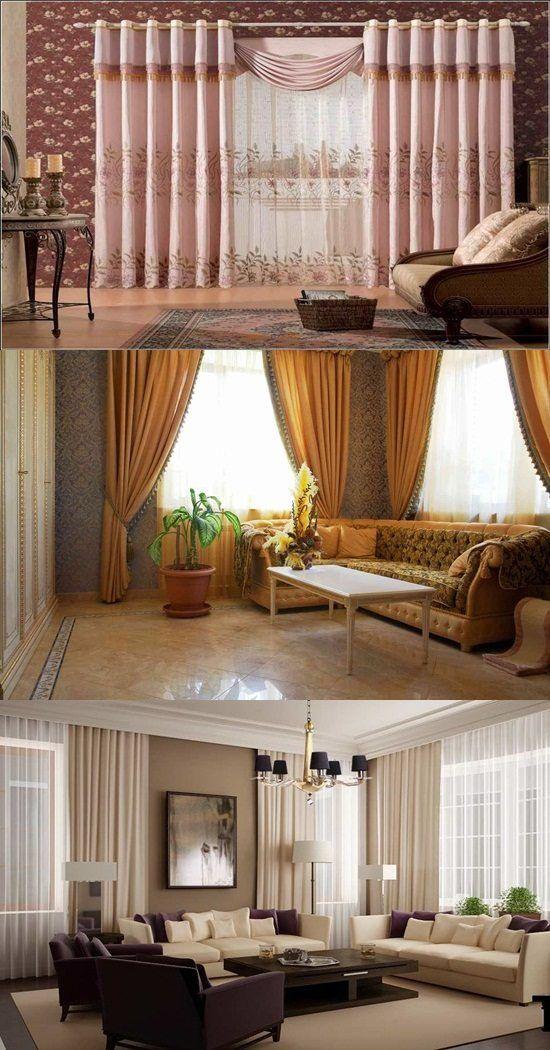 Inspirational Living Room Drapes Pinterest