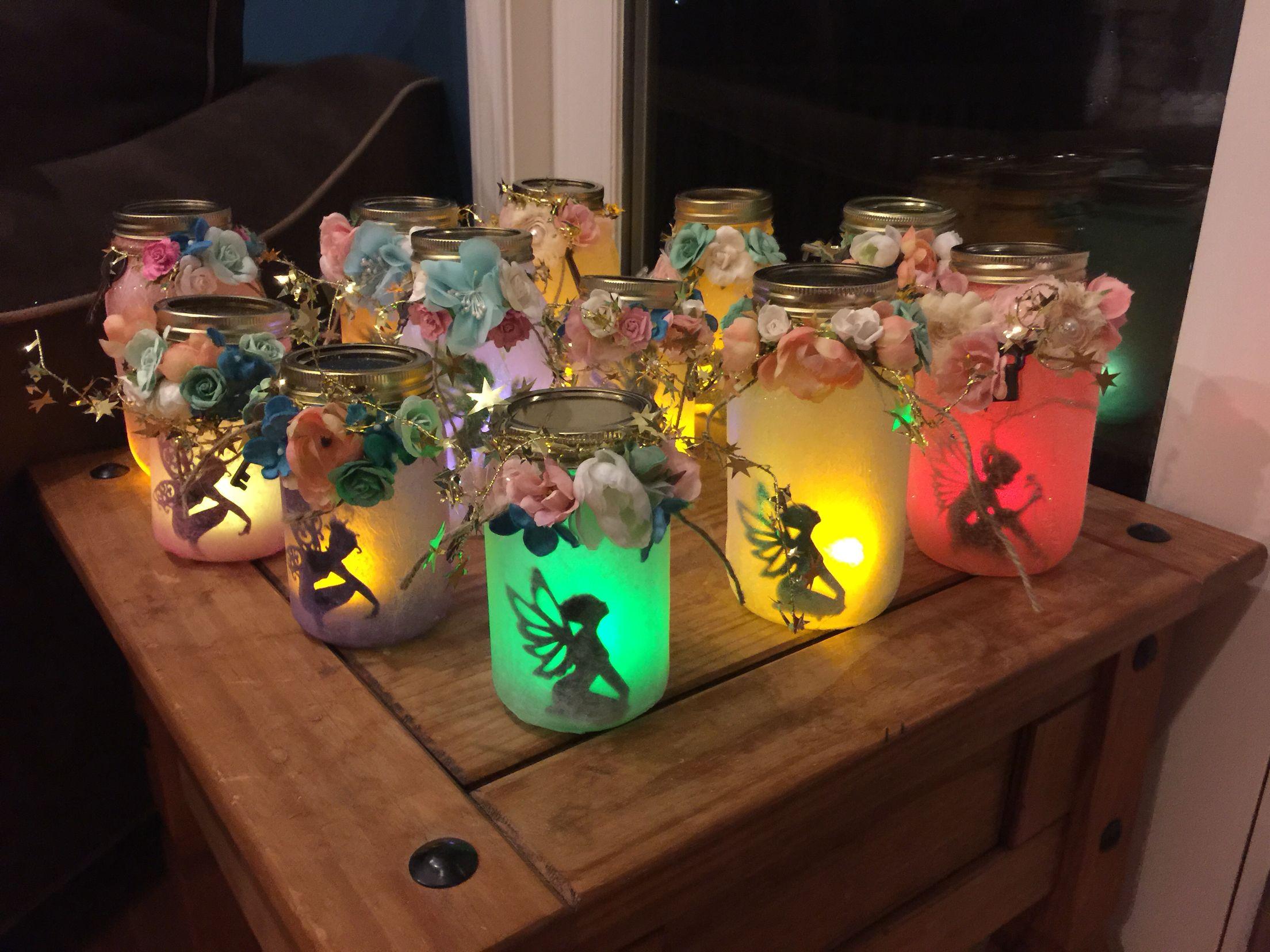 Colorful Fairy Jars Fairy Jars Mason Jar Art Jar Crafts